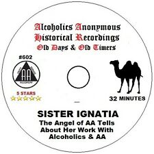 Alcoholics Anonymous AA 12 Step Speaker CD - Sister Ignatia, Angel of AA