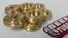 BEEF PATTIES (BRASS) - SLW STYLE WHEEL WEIGHTS (2) BT005B BEEF TUBES AXIAL RC4WD