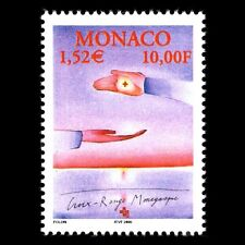 Monaco 2000 - Monaco Red Cross Art Painting - Sc 2166 MNH