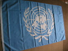 UNITED NATIONS UN FLAG FLAGS 5'X3' PLOYESTER BRAND NEW POST FREE IN UK