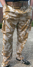 "BRITISH ARMY WINDPROOF TROUSERS, DESERT XL LONG  38"" W 35"" L  90/96/112 combat"