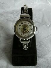 GRANDE Stile Trench Donna Argento Swiss Watch importati da MEYER & studeli, 1922