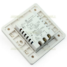 Infrared IR White Automatic Motion Sensor Lamp Wall Ceiling Light Control Switch
