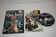 Chaos Legion Sony Playstation 2 PS2 Video Game Complete