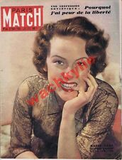 Paris Match n°44 du 21/01/1950 Michèle Chédid Nadia Gray Jean-Louis Barrault