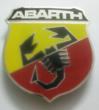 ABARTH CLUB CAR GRILL BADGE EMBLEM MG JAGUAR TRIUMPH PORSCHE FERRARI AUDI