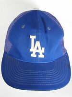 Vtg 1980s LOS ANGELES LA DODGERS Baseball Sports Specialties L SNAPBACK HAT CAP