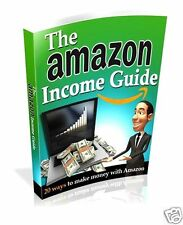 THE AMAZON INCOME GUIDE EBOOK WITH FULL RESELL RIGHTS PDF FREE SHIPPING