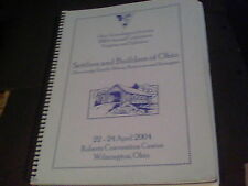 2004 Settlers and Builders of Ohio Ohio Genealogical Society annual conference p