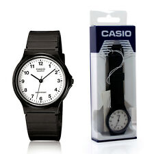 Casio Classic Mens Boys Ladies Women Girls Casual Style Black Wrist Watch