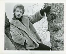 AUTOGRAPHE SUR PHOTO ORIGINALE de Piper LAURIE (Collection Pierre Goulliard)