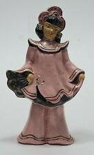 Vintage ( Chalk Ware?) Chinese Girl Figurine
