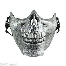 Silver Mask ~ Call of Duty ~ Modern Warfare ~ Ghost Rider ~ Bike ~ Skull ~ Style