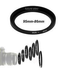 95mm to 86mm 95-86 Metal Stepping Step Up Ring Camera Lens Filter Adapter Hood
