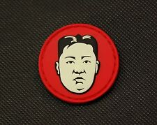Kim Jong Un Dear Leader GITD Morale Patch Glow In The Dark Supreme Leader DPRK