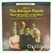 JOHNSON FAMILY SEALED LP Shall We Gather At The River ORIGINAL 1966 Gospel The