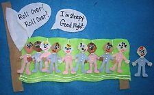*Teach Classic Tales And Counting* Ten In The Bed Flannel Felt Board Story Set