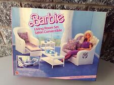 1983#Vintage 7404# Barbie  Living Room Set Nrfb Sealed Rare