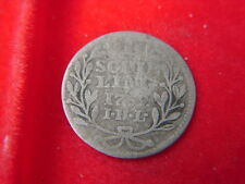 1759 ONE SCHILLING COIN FROM AUSTRIA FROM MY COLLECTION B79