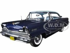 1956 LINCOLN PREMIERE HARD TOP FAIRMONT BLUE PLATINUM EDITION 1:18 SUNSTAR 4653