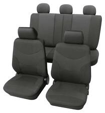 Luxury Dark Grey Car Seat Cover set - For Toyota Camry 2001 To 2006