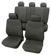 Luxury Dark Grey Car Seat Cover set - For Ford FIESTA V 2001 to 2010