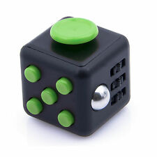 Green Fidget Cube Toy Christmas Gift ! Anxiety Attention Stress Relief For Adult