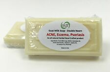 Scent Ole Goat Milk Soap with Double Neem for Acne Eczema Psoriasis UNSCENTED