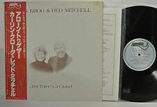 KARIN KROG & RED MITCHELL - BUT THREE'S A CROWD LP - BAYSTATE - JAPAN - OBI