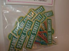 SESAME STREET SIGN-Cupcake Picks-food picks-Birthday-Decorating set of 12
