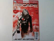 ESCAPE #1 FINAL CRISIS AFTERMATH, 2009 DC Comics USA.  VFn+ (Prisoner/McGoohan?)