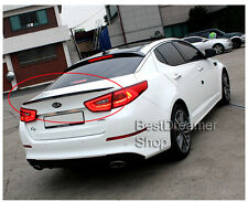Painted 2 kinds colors Rear Lip Trunk Wing Spoiler For KIA OPTIMA / K5 2014+