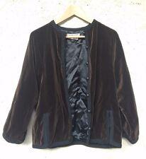 *** Collector magnifique veste / manteau YVES SAINT LAURENT velours ***