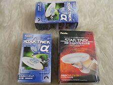 Star trek job lot models Furuta uss grissom & shuttlecraft galleo & farragut ncc
