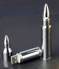 Silver Bullet 16GB USB Flash Drive/Pen Drive Memory Stick Key Ring