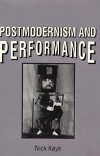 Postmodernism and Performance-ExLibrary