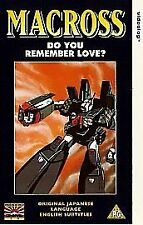 Macross: Do You Remember Love? [VHS], Good VHS, Hirotaka Suzuoki, Ryûnosuke Ôbay