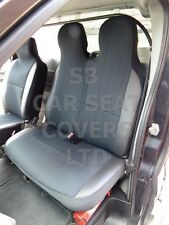 TO FIT A FORD TRANSIT VAN, 2005, SEAT COVERS, INDUS GREY, 1 SINGLE AND 1 DOUBLE