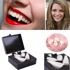 2Sets Robe Vampire Dents Denture Canines Morsures Costume Halloween Accessoires