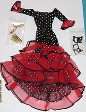 Neuve Tenue outfit ensemble fashion BARBIE ESPAGNE SPAIN Collection collector