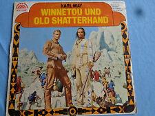 70er Jahre  Vinyl LP Karl May Hörspiel :   Winnetou und Old Shatterhand