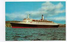 GB Postcard  Queen Elizabeth 2 cruise liner,   PT2943,  Not posted.