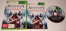 XBOX 360 - ASSASSIN'S CREED BROTHERHOOD - complete