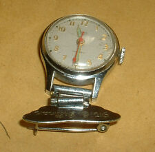 VINTAGE SMITHS 5 JEWEL SHOCKPROOF WIND UP  NURSES WATCH