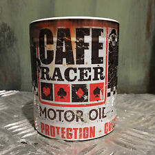 Cafe racer Oil can Gift Motorcycle Mechanic Gift 11oz Tea coffee mug