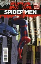 SPIDER-MEN #5 1/30 TRAVIS CHAREST VARIANT MILES MORALES AMAZING MEETS ULTIMATE