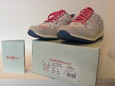 CATH KIDSTON TRAINERS SHOES LACE UPS BLEACHED FLOWERS WORN ONCE 38 5 boxed