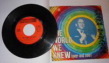 Disco 45 giri Frank Sinatra The World we knew /You are there Reprise 1967 (1)