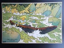 RARE ancienne Image puzzle Cube Dubreucq Tintin L'oreille cassée ETAT NEUF