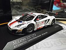 Mclaren mp4-12c gt3 24h spa 2013 euros data #11 Leclerc Parisy Minichamps 1:43